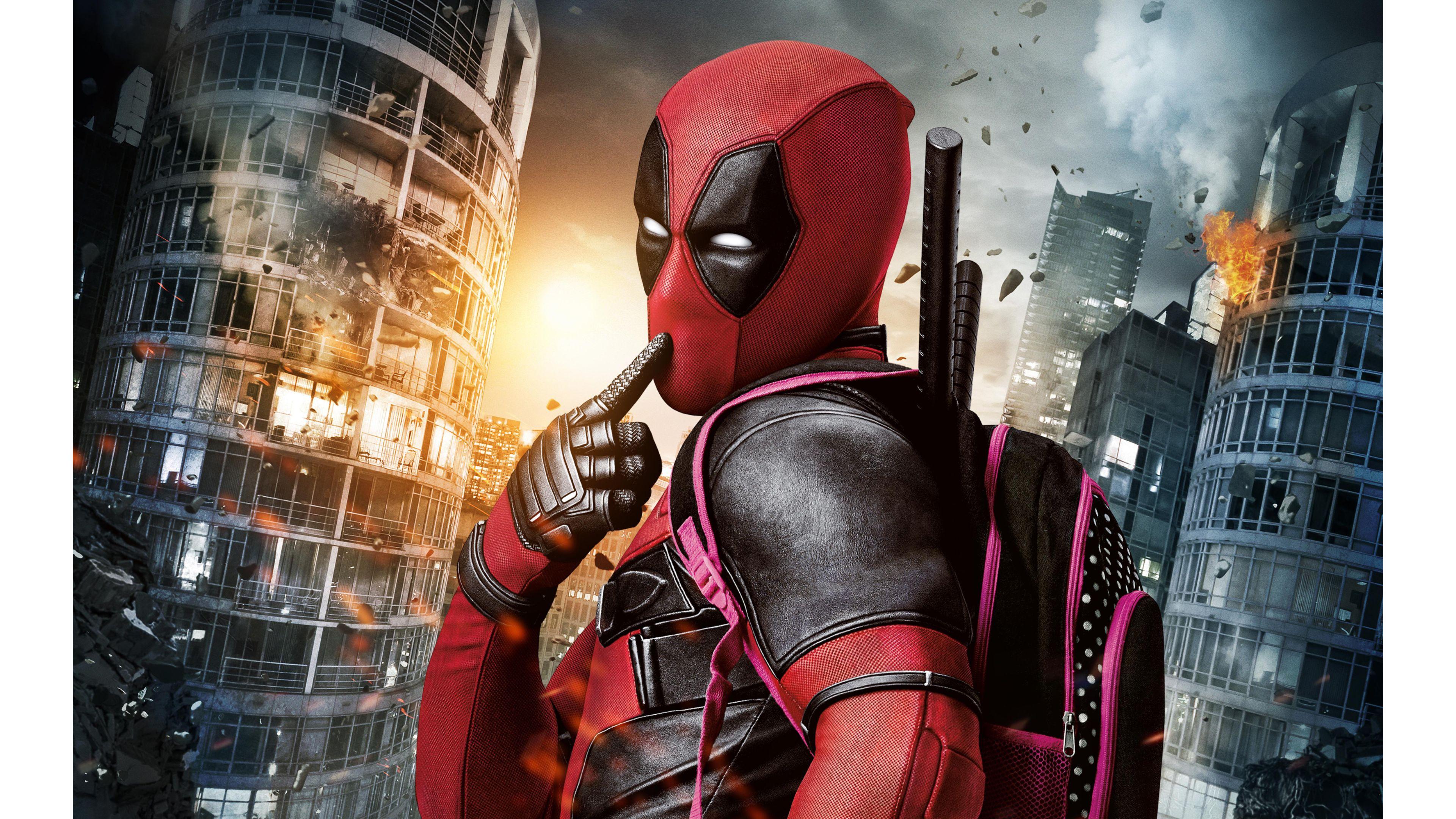 Creative Deadpool Movie 4K Wallpapers 4K Wallpaper 3840x2160