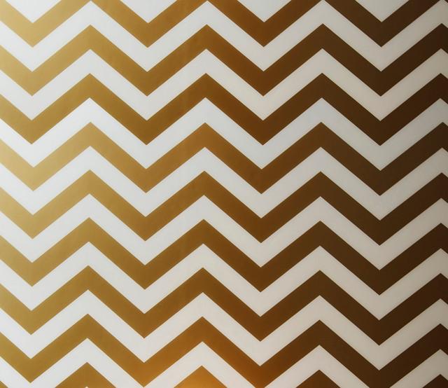 Stick Chevron Wallpaper Gold   Contemporary   Wallpaper   by Tempaper 640x554