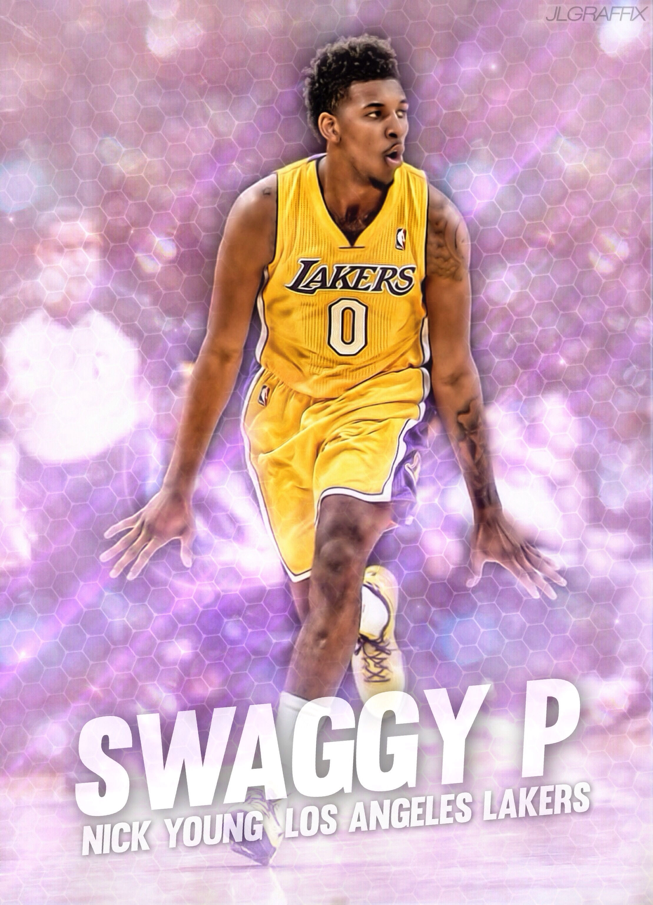 Nick Young by jlgraffix 2218x3072