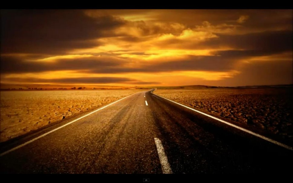 open road wallpaper