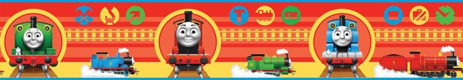 Thomas and Friends Wallpaper - WallpaperSafari Thomas And Friends Wallpaper Border