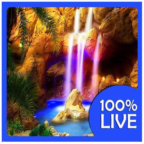 Real Waterfalls Live Wallpaper 11 screenshot 0 500x500