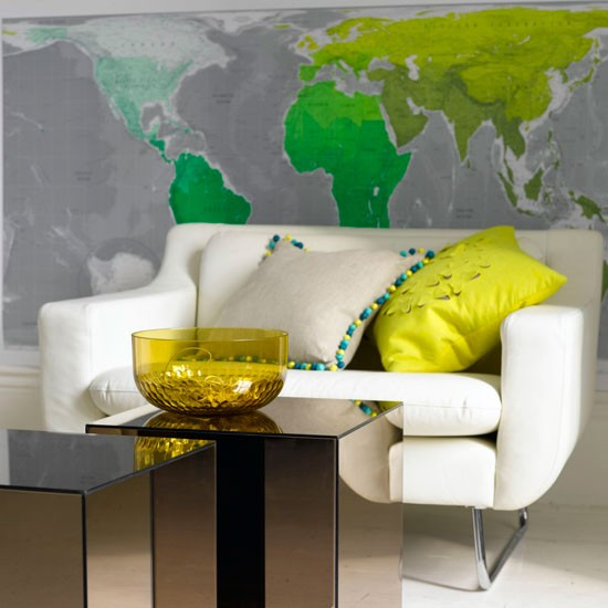 World map wallpaper wallpaper designs housetohomecouk 550x550