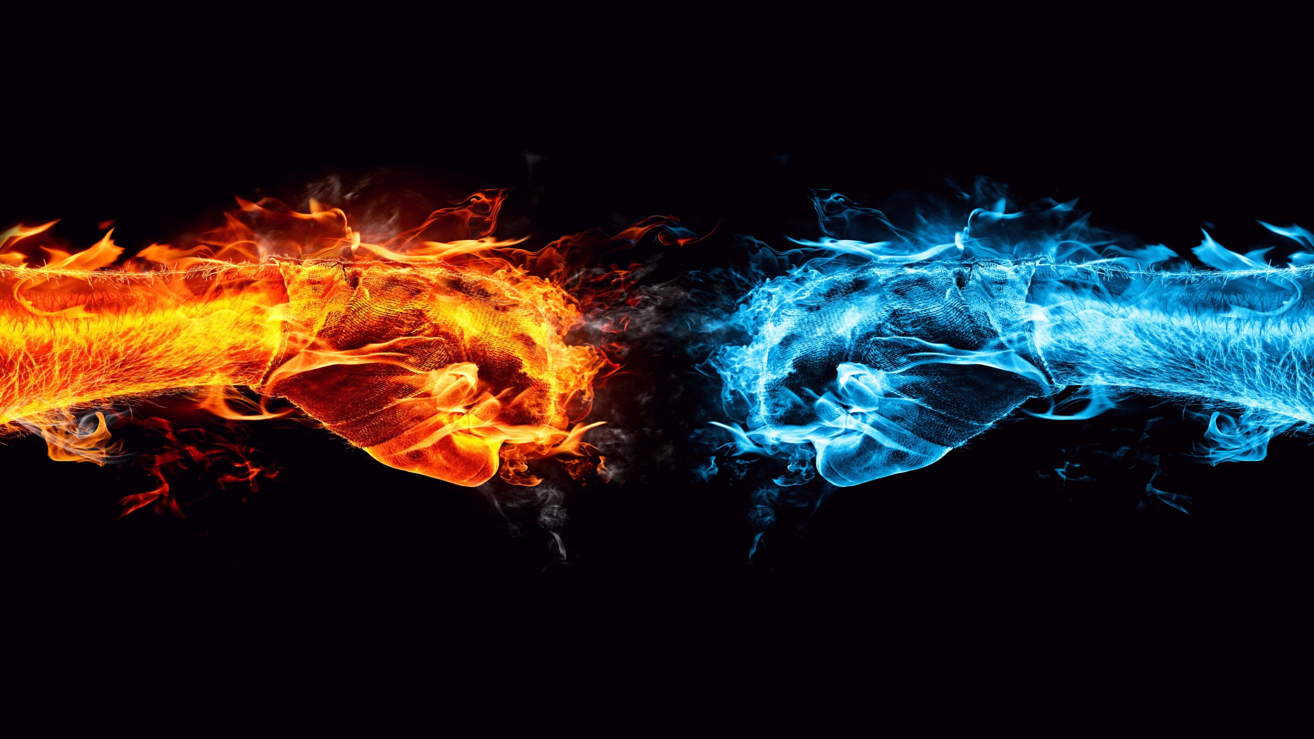 Ice and fire awesome 2560x1440