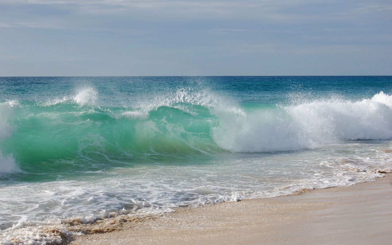 Sea Waves Wallpapers   8735 1280x800
