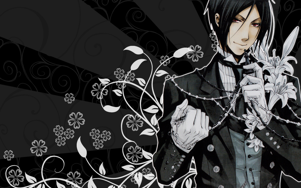 Free Download Desktop Abstract Background Black Butler Full