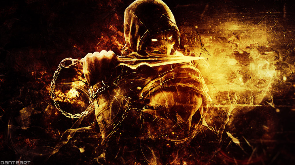 Mortal Kombat 4k Ultra Hd Wallpaper And Background Image: Mortal Kombat X Scorpion Wallpapers