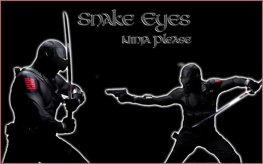 Snake Eyes Wallpaper by Nadurac 900x563