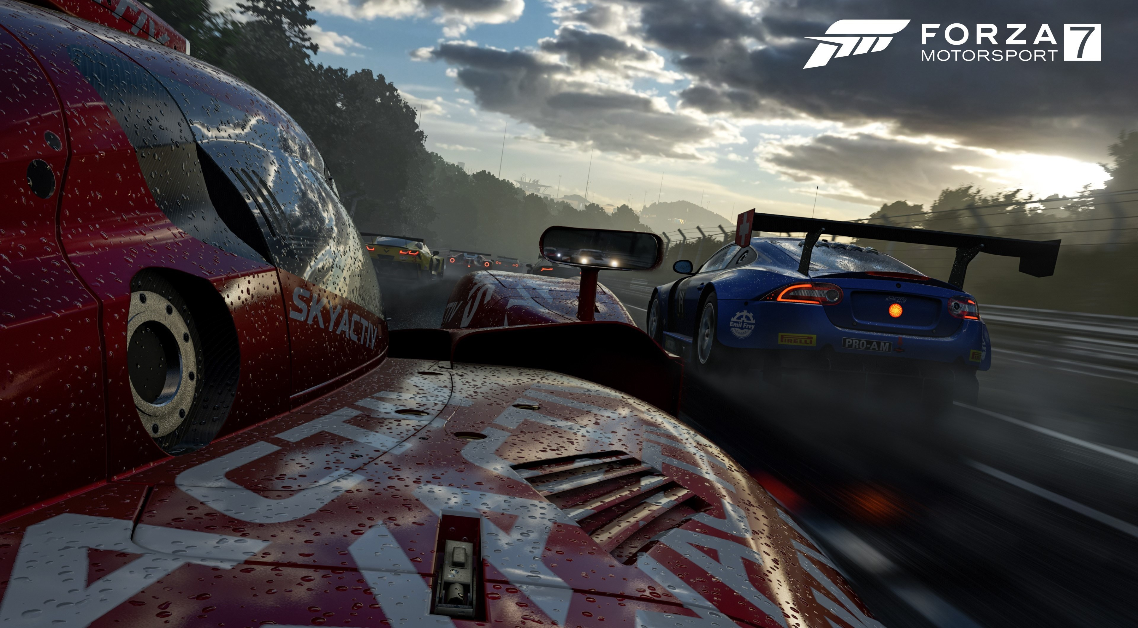 17 Forza Motorsport 7 HD Wallpapers Background Images 3840x2120