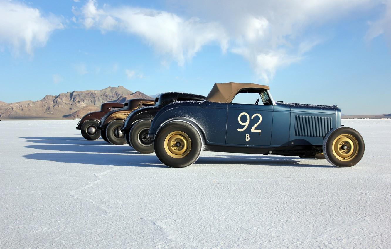 Wallpaper vintage desert race usa utah bonneville salt flats 1332x850