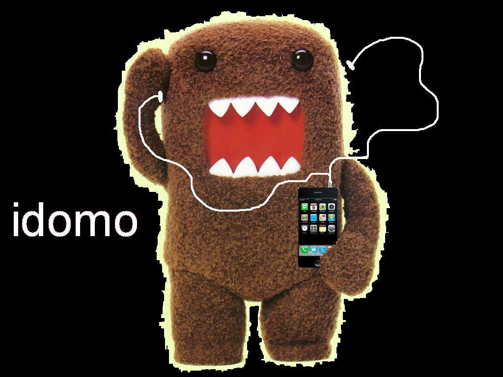 Cute Domo Cartoon Wallpaper Images Pictures   Becuo 1024x768