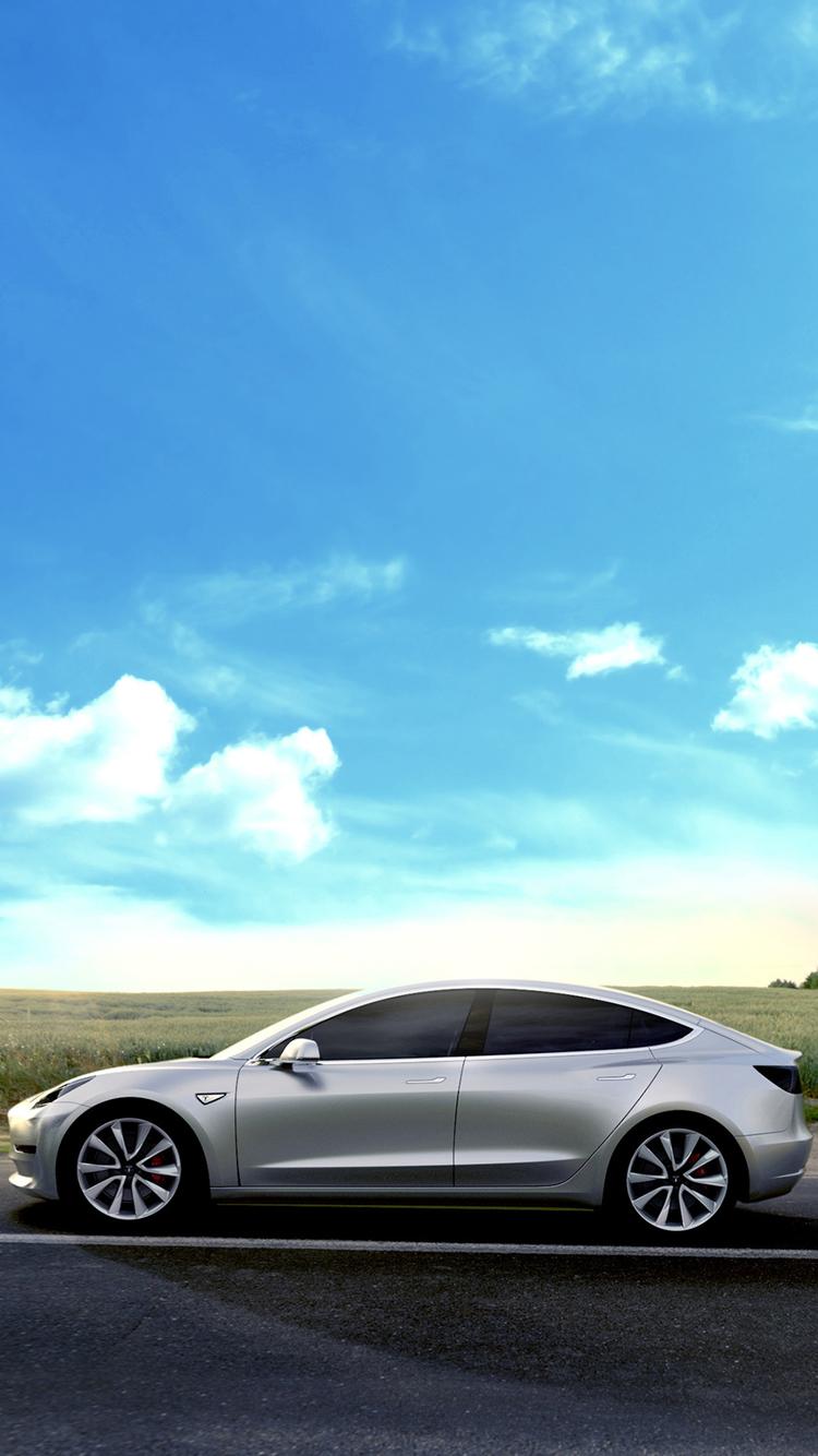 Tesla Mobile Wallpapers 750x1334