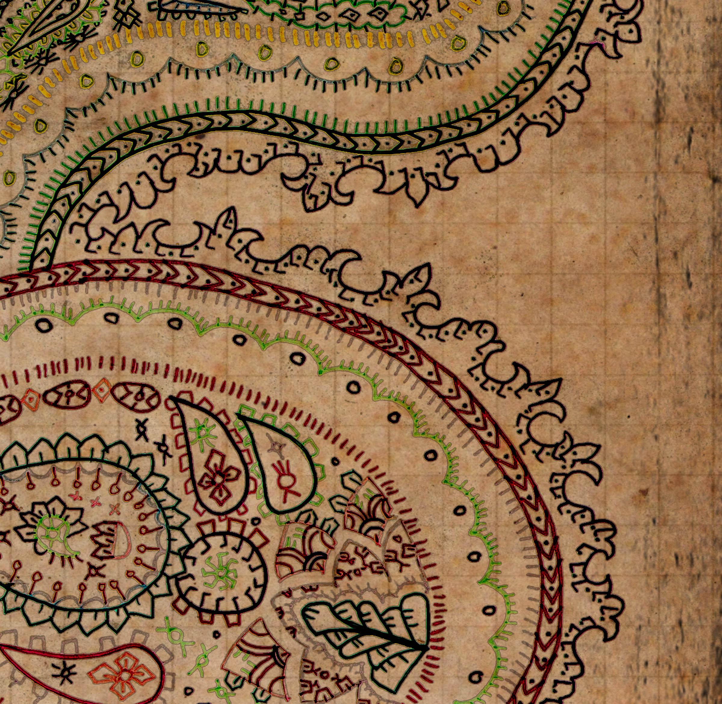 Bohemian Wallpaper Art...