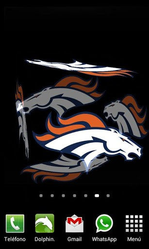 View Bigger 3D Denver Broncos Wallpaper For Android Screenshot 307x512