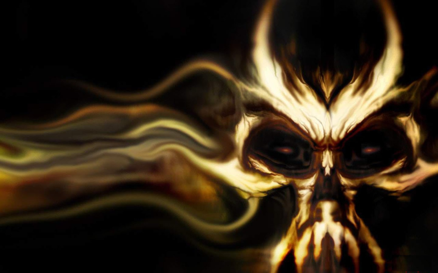 evil skull wallpapers screensaver - photo #11