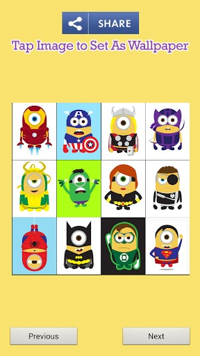 Cute Superheroes Wallpaper Cute minions superheroes app 288x512