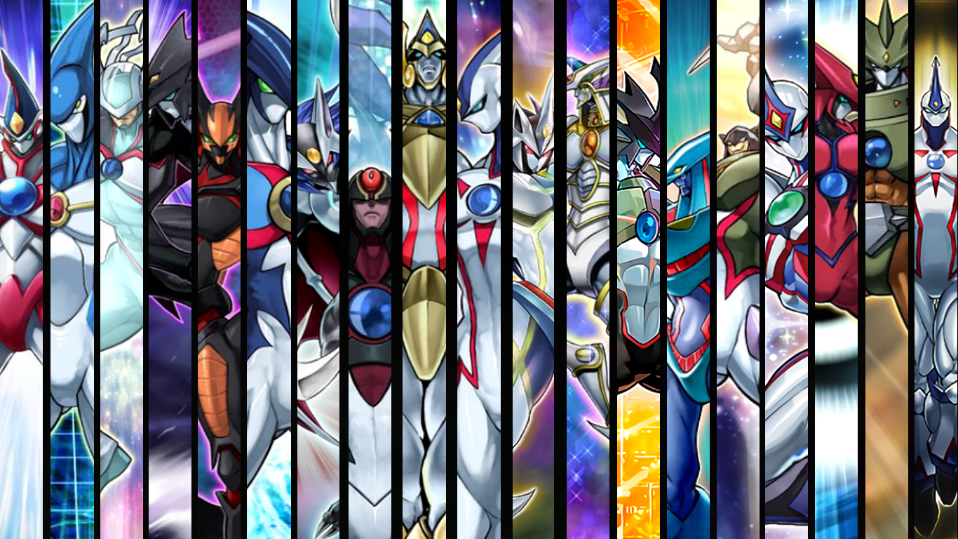 Neos is finally playable So I made a wallpaper yugioh 1366x768