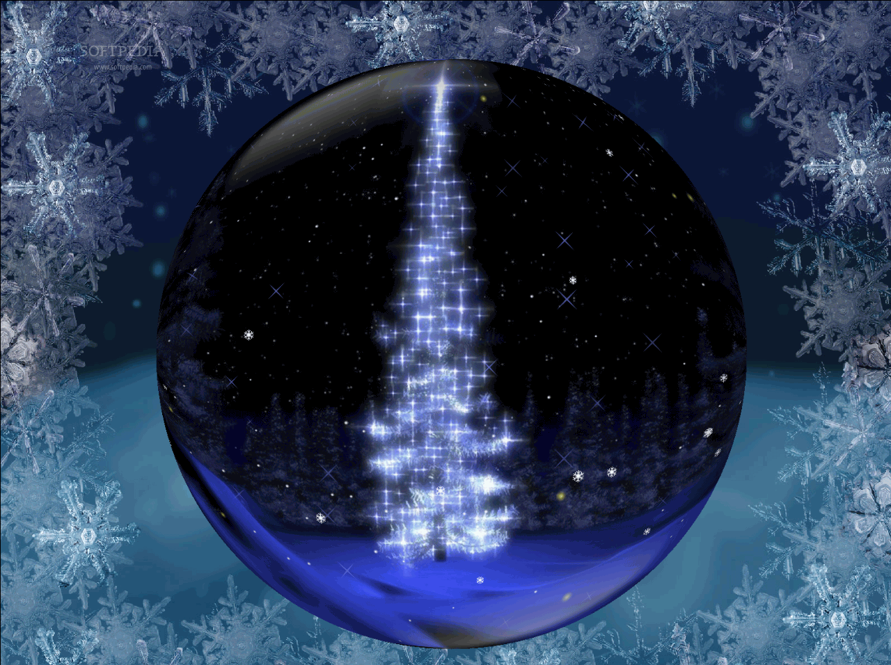 Animated christmas wallpaper for mac wallpapersafari - Anime merry christmas wallpaper ...
