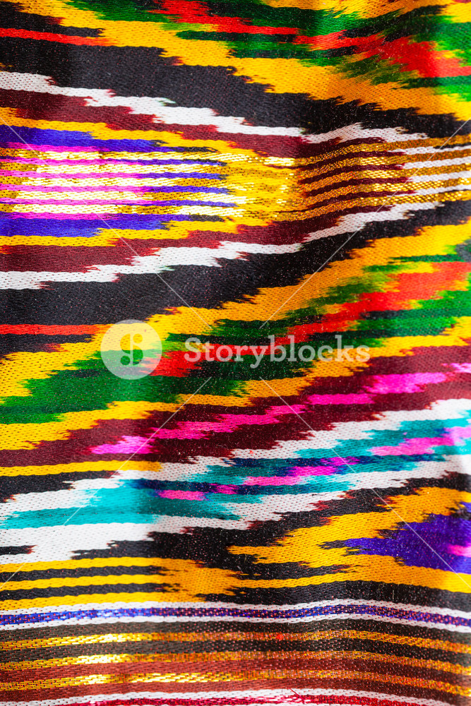 textile background   traditional central asian bright striped 667x1000
