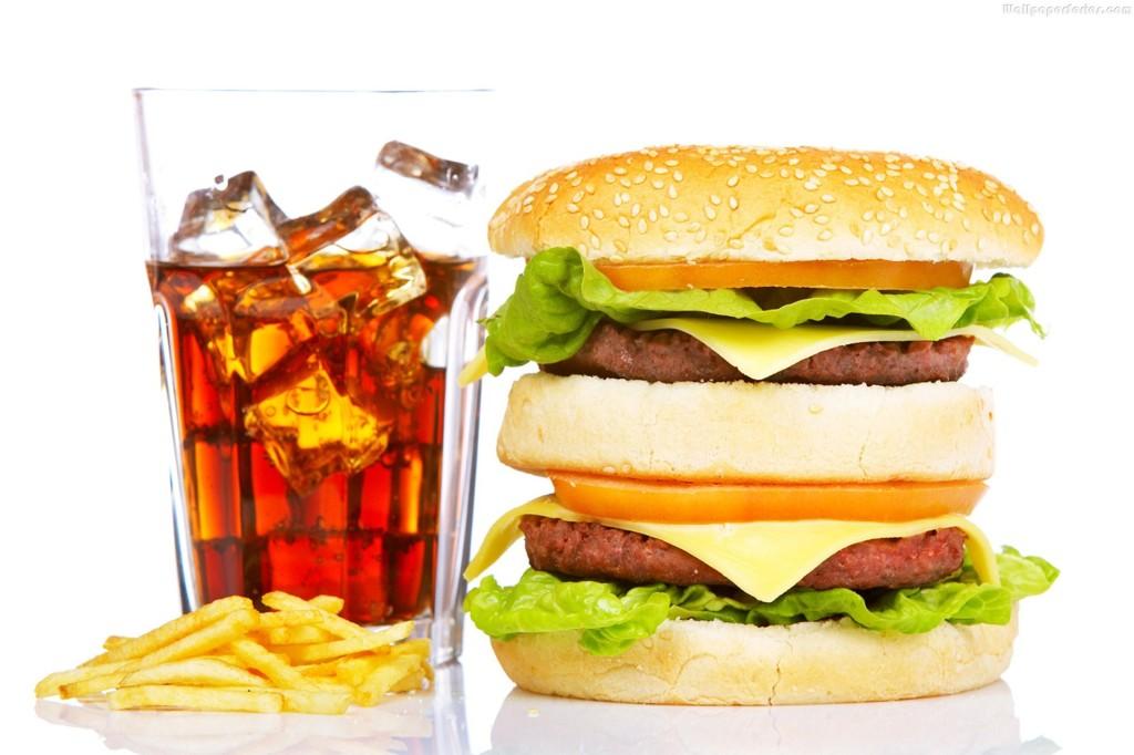 Fast Food Burger HD Wallpaper   Stylish HD Wallpapers   Stylish HD 1024x682