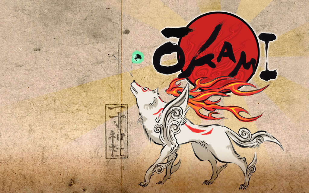 Okami Amaterasu Images Okami Hd Wallpaper And Background   Okami 1024x640