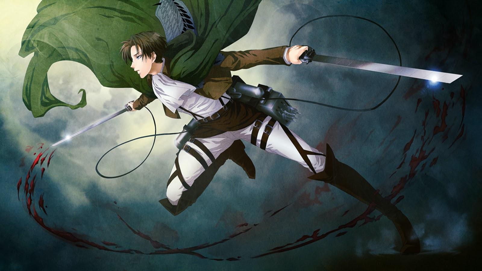 Attack On Titan Kyojin Attack Levi Attack Wallpaper Levis Levi 1600x900