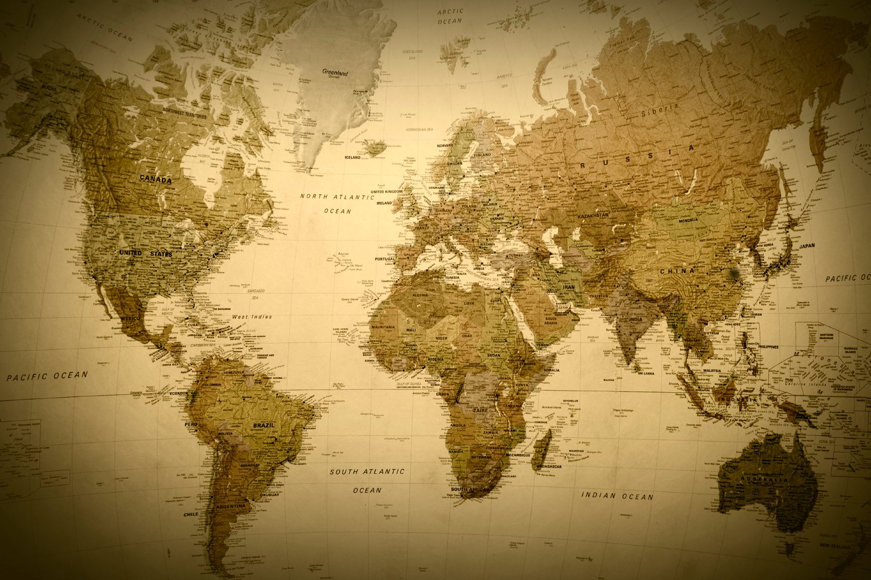 Antique style world map wallpaper hd wallpapers blog photo collection vintage world map wallpapers source antique world map wallpaper wallpapersafari gumiabroncs Gallery