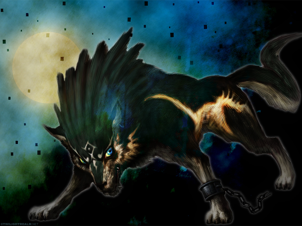 Image   Wolf Link The Legend of Zelda Twilight Princess Wallpaperjpg 1024x768