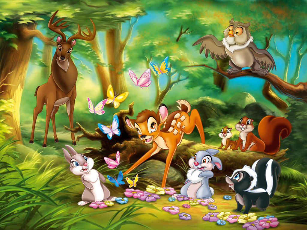 Free Download Disney Animated Fantasy Movie Bambi And
