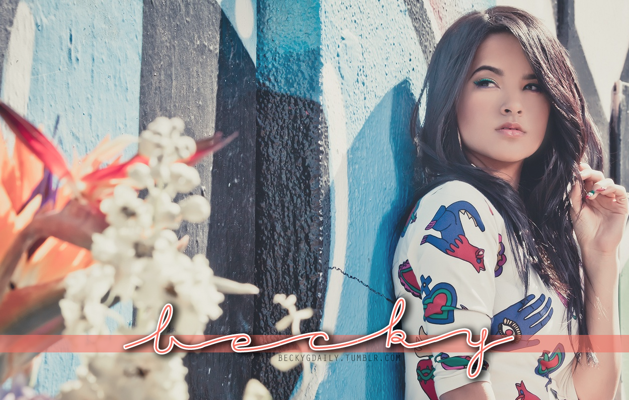 NEW BECKY G DESKTOP WALLPAPER TO USE CLICK ON THE PICTURE FOR LARGER 1254x799
