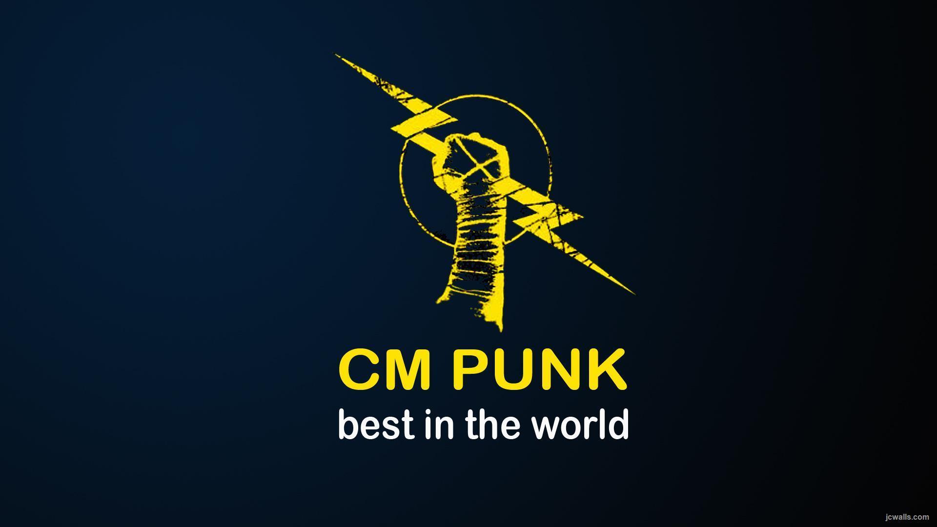 CM Punk Logo Wallpapers 1920x1080