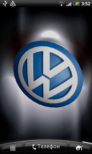 Download VW 3D Logo Live Wallpaper for Android   Appszoom 307x512