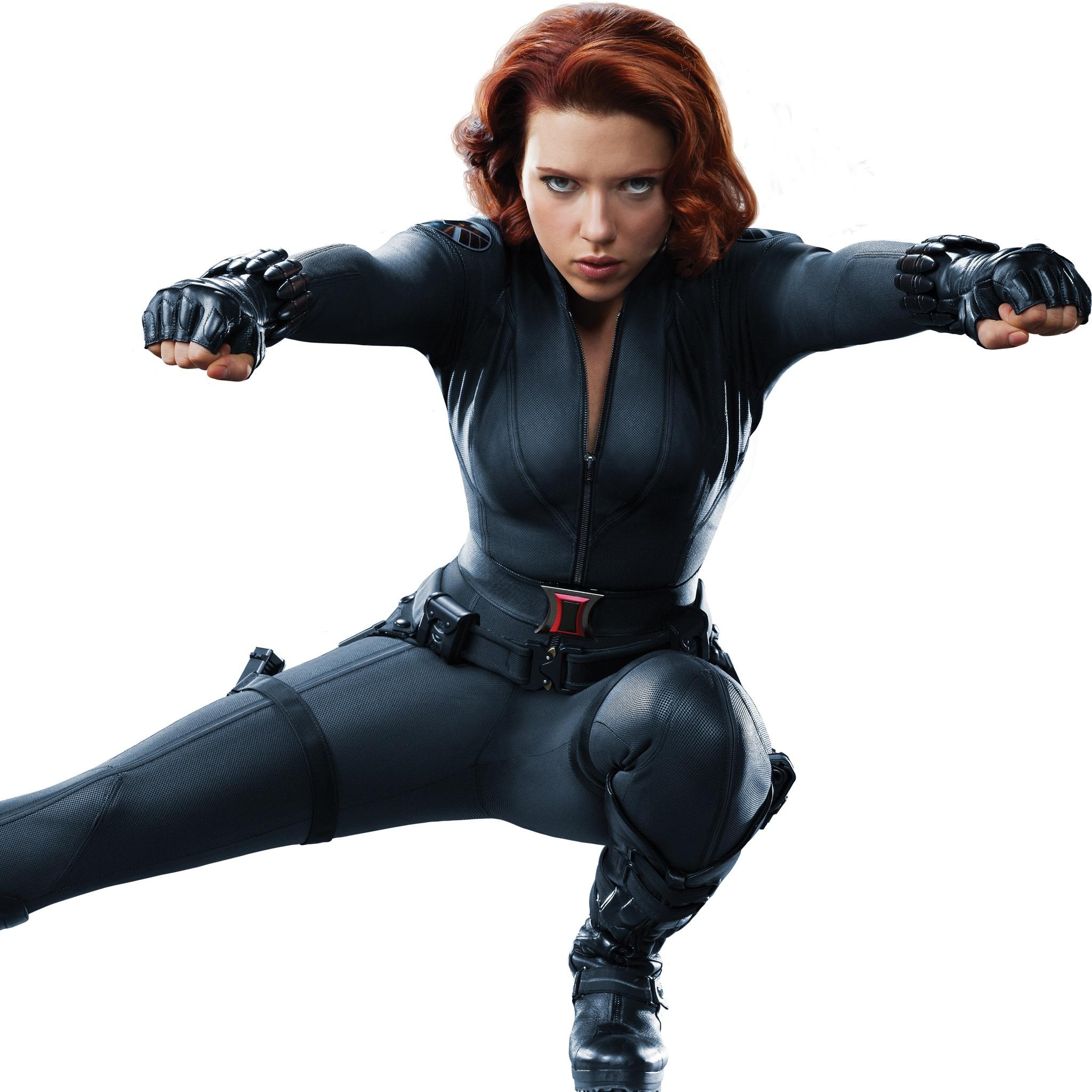 The Avengers Black Widow Wallpaper 2048x2048