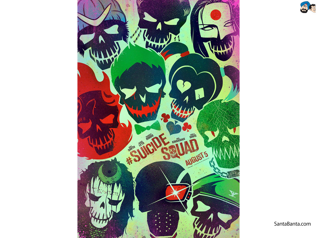 Suicide Squad Movie Wallpaper 4 1024x768