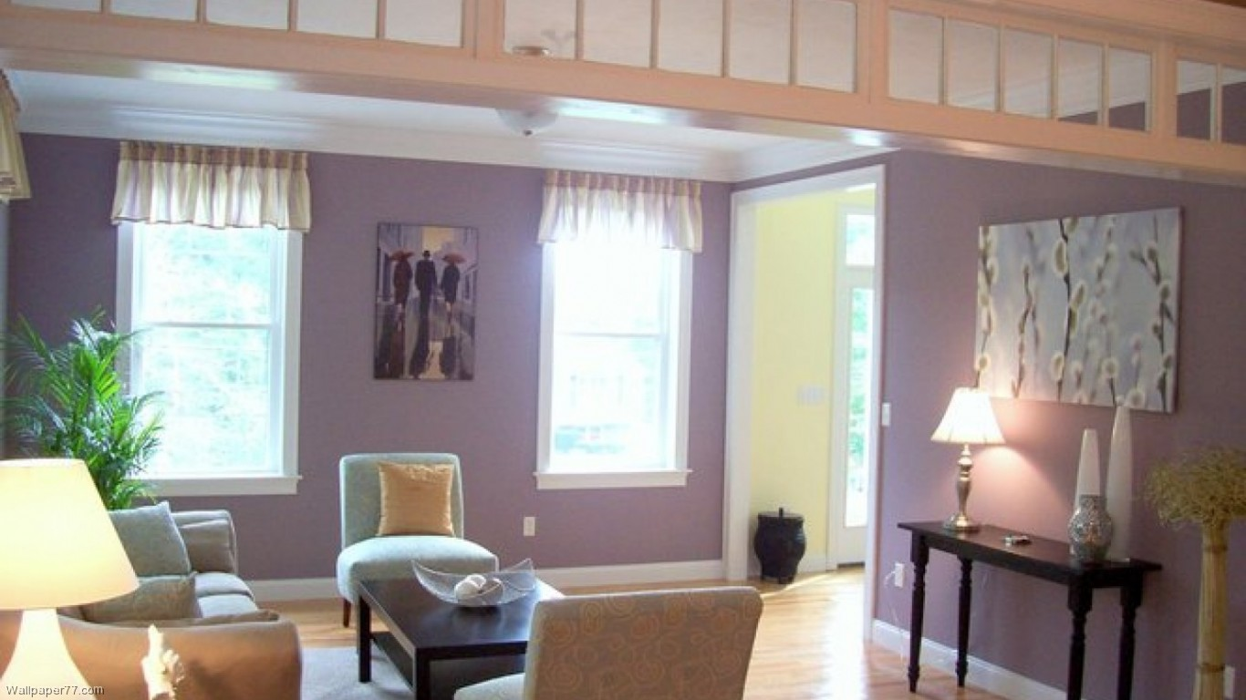 Green And Purple Room Purple Room Wallpaper Wallpapersafari