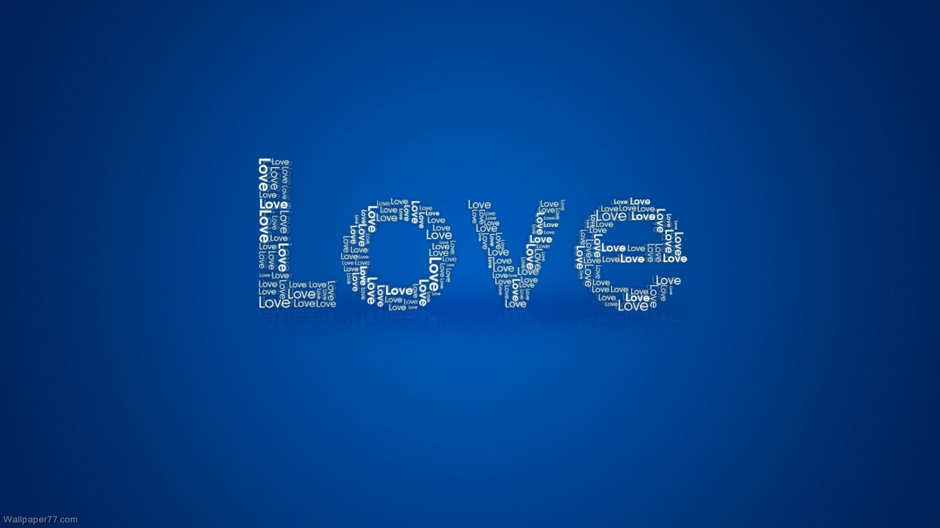 Love Word 1366x768 pixels Wallpapers tagged 14 February 1366x768