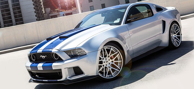 Need For Speed Mustang Wallpaper Need for speed 2014   ford 815x375