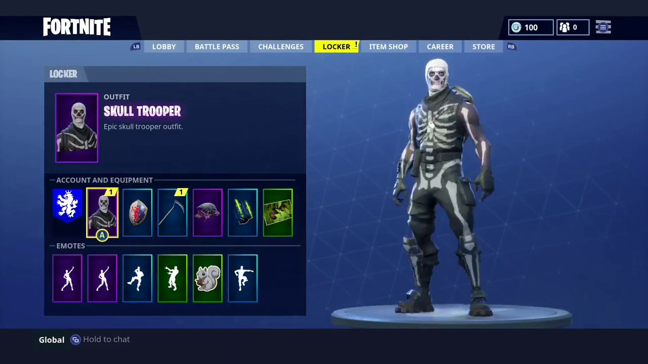 How To Get The Skull Trooper Or Any Character FREE in Fortnite 1280x720