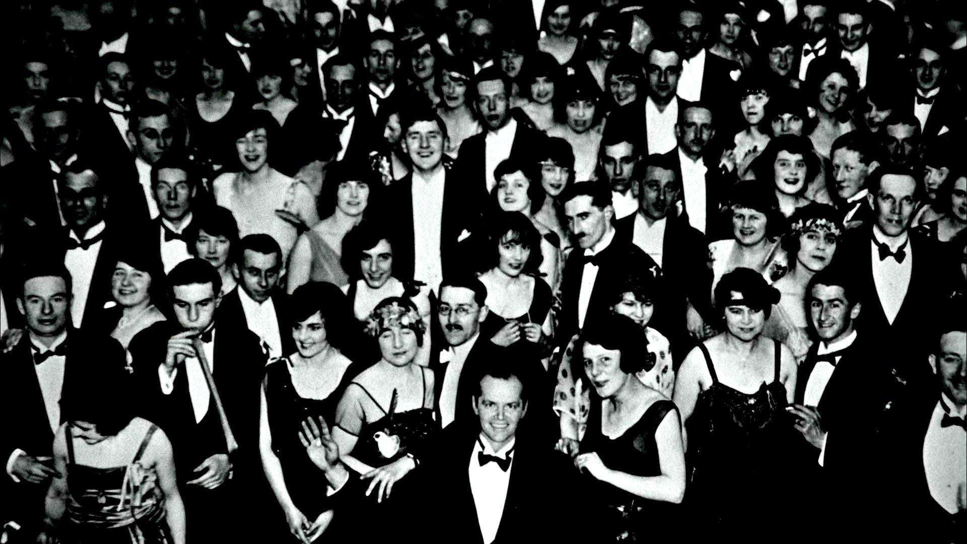 THE SHINING horror thriller dark movie film classic crowd death 1920x1080