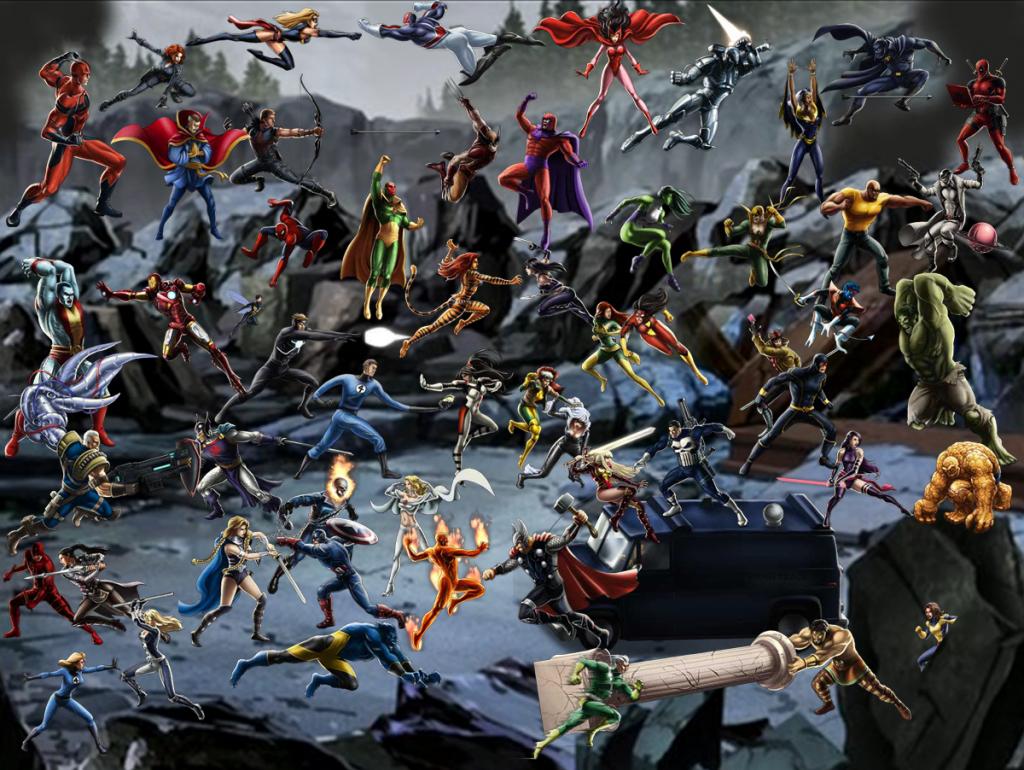 Marvel civil war wallpaper wallpapersafari - Avengers civil war wallpaper ...