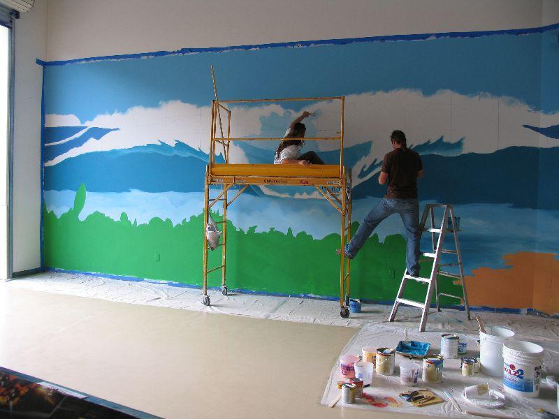 painting wall murals 2015   Grasscloth Wallpaper 800x600