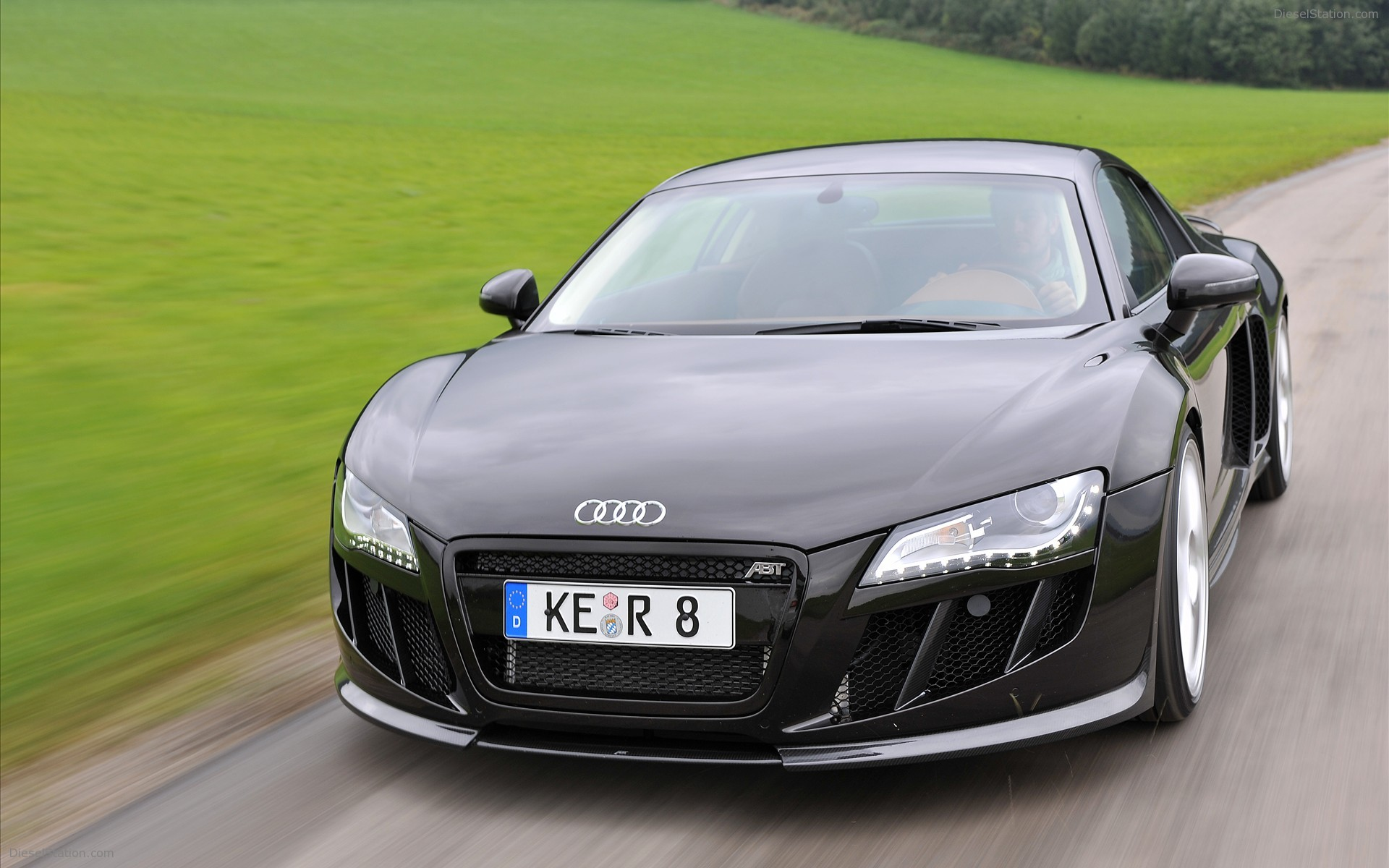 ABT Audi R8 V10 Widescreen Exotic Car Wallpapers 08 of 18 Diesel 1920x1200