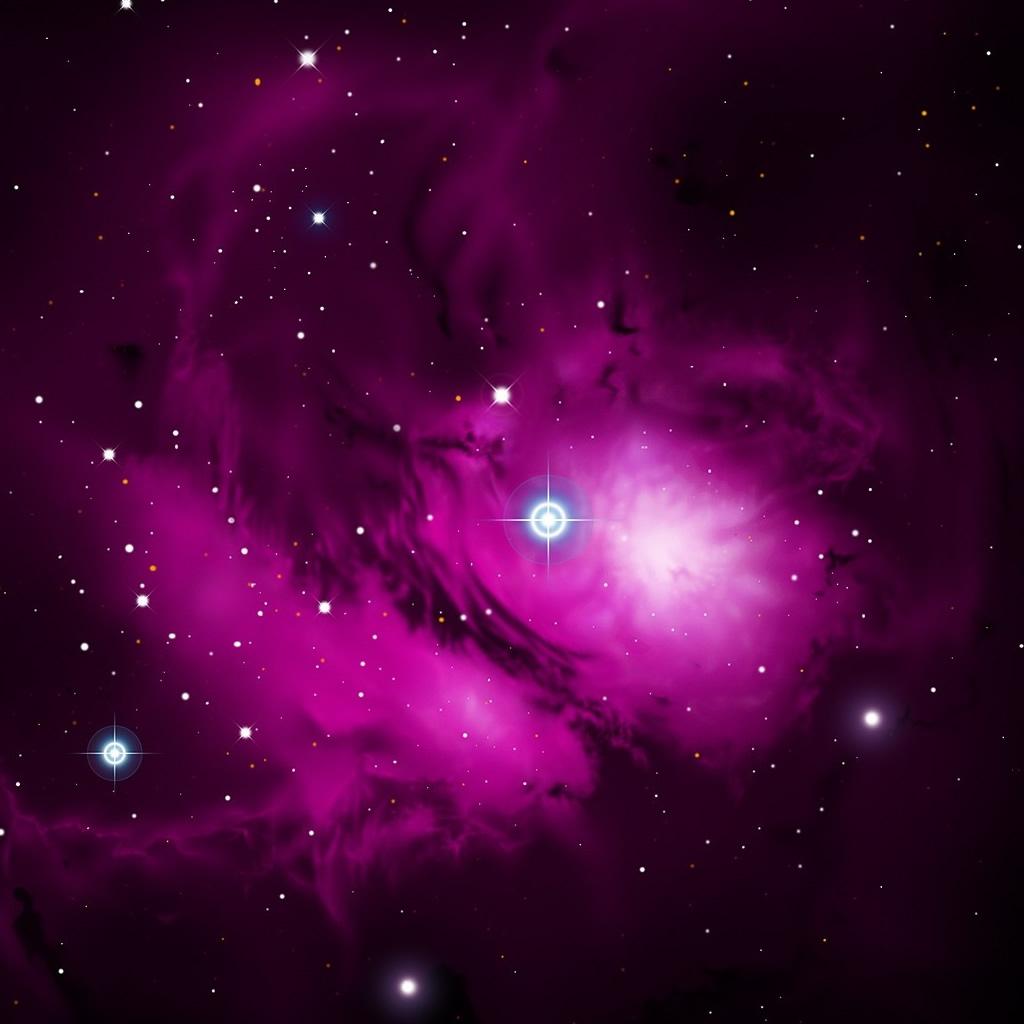 [73+] Purple Galaxy Wallpaper on WallpaperSafari