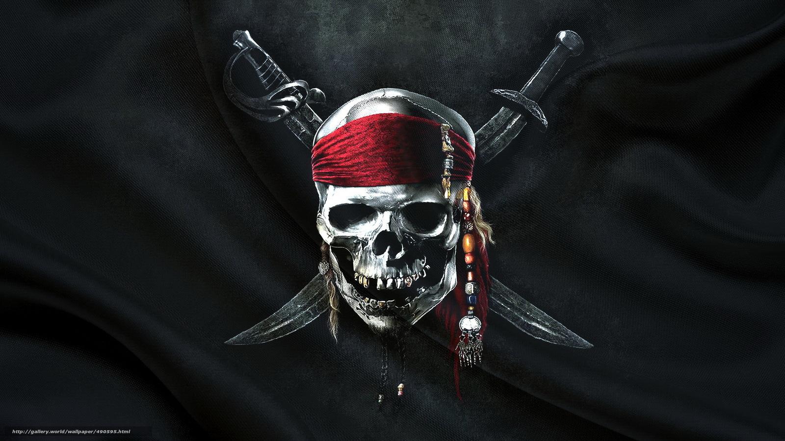 pirate flag wallpaper hd