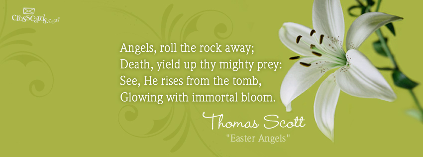 Verse Greetings Card Wallpapers Easter Facebook Timeline Cover 850x315
