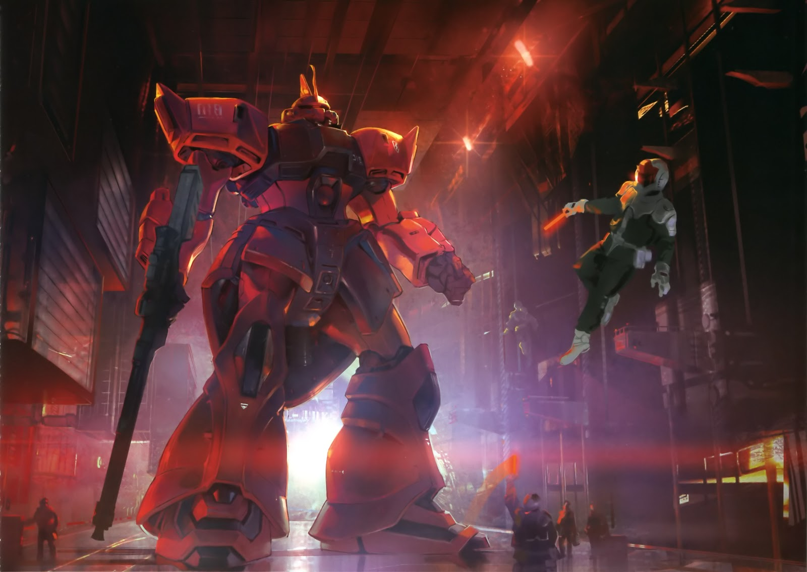 Gundam Walls and LOLS MS 14Jg Gelgoog Jger Wallpaper 1600x1133
