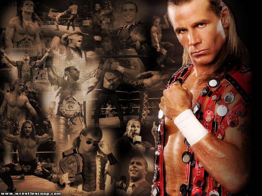WWE WRESTLING CHAMPIONS Wwe Shawn Michaels Wallpaper 1024x768