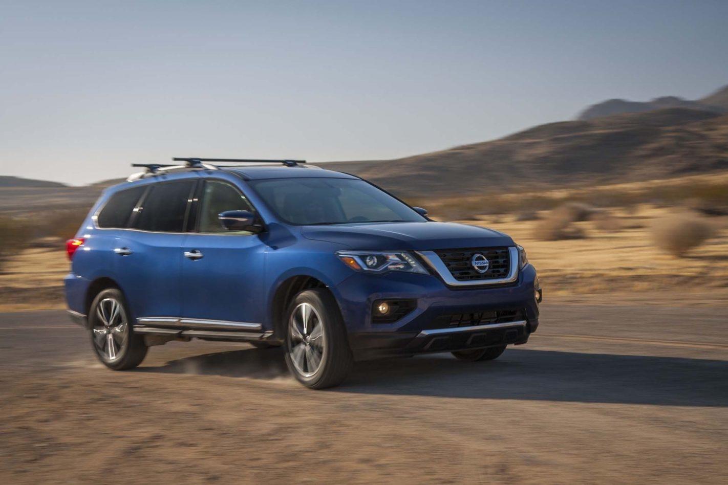 2019 Nissan Pathfinder Exterior Wallpapers Auto Car Rumors 1422x948