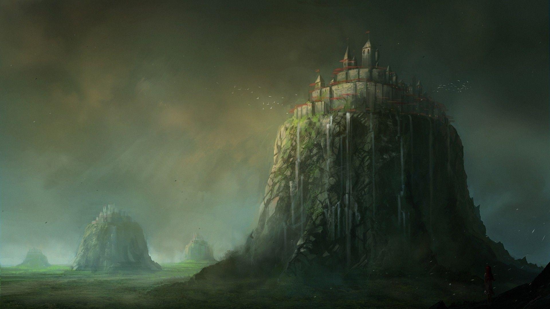FANTASY CASTLES wallpaper fantasy castles castle images 1920x1080