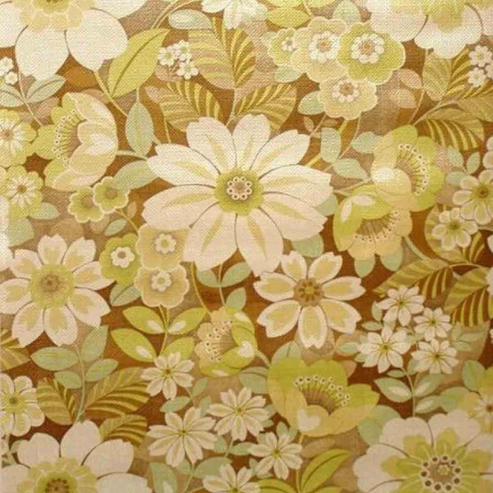 Free Download Vintage Original Floral Fantasy Wallpaper